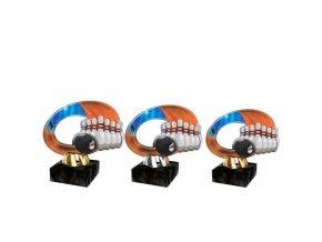 Akrylátová trofej CACL2102M32 Bowling