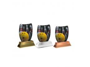 Akrylátová trofej ACE2002M30 Bowling