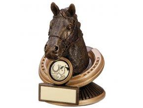 Trofej  CRF3037 kůň  Výška 13cm