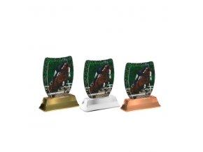 Akrylátová trofej ACE2002M34 Dostihy