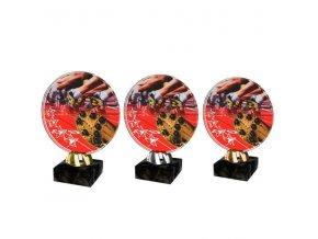 Akrylátová trofej CACL2103M29 Běh