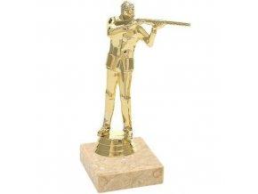 Figurka CF543 střelba zlatá