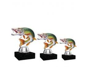 Akrylátová trofej CACT1201M15 ryba