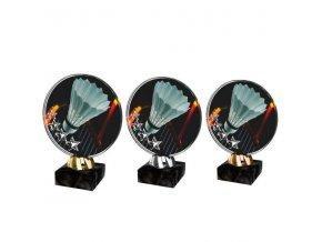 Akrylátová trofej CACL2103M18 Badminton