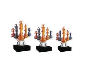 Akrylátová trofej CACT1201M14 šachy