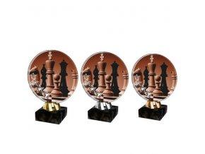 Akrylátová trofej CACL2103M40 Šachy