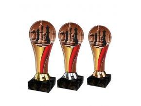 Akrylátová trofej ACL2100M39 Šachy