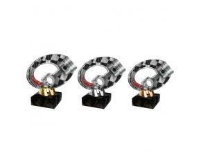 Akrylátová trofej CACL2102M39 Cyklistika