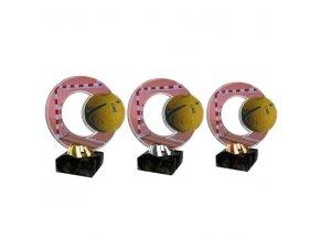 Akrylátová trofej CACL2101M16 Házená