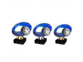 Akrylátová trofej CACL2102M21 Floorball