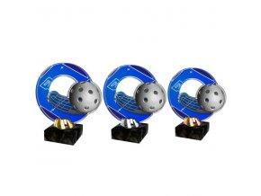 Akrylátová trofej CACL2101M19 Floorball