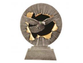 Trofej plaketa CRF2215 holub Výška 18cm