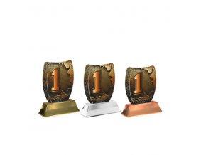 Akrylátová trofej ACE2002M45 1.Místo