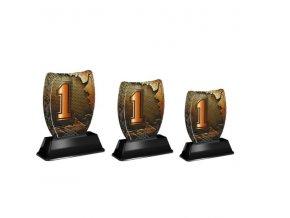 Akrylátová trofej ACE2001M45 1.Místo