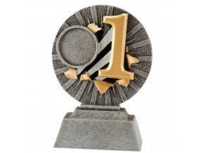 Trofej  CFG1302 1. místo  Výška 10cm