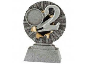 Trofej  CFG1303 2. místo  Výška 10cm