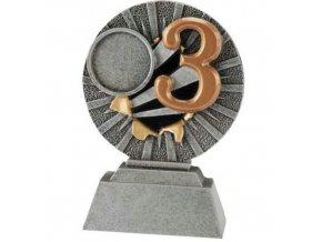 Trofej  CFG1304 3. místo Výška 10cm