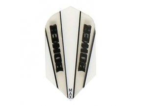 Letky POWER MAX slim white/black clear