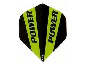 Letky POWER MAX standard black/green