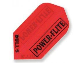 Letky POWER FLITE slim red
