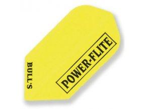 Letky POWER FLITE slim yellow