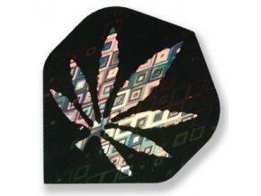 Letky DIAMOND standard black/silver marihuana