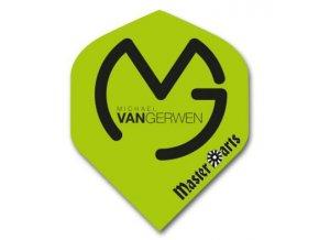 Letky MICHAEL VAN GERWEN standard green