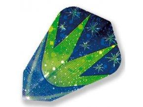 Letky FANTASY fantail blue/green