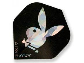 Letky PLAYBOY standard black/silver
