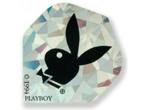 Letky PLAYBOY standard silver/black