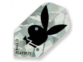 Letky PLAYBOY slim silver/black