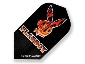 Letky PLAYBOY slim black/red