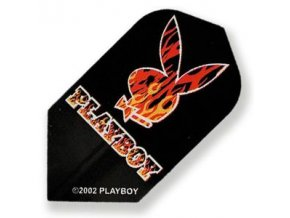 Letky PLAYBOY slim black/red