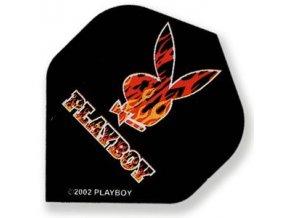 Letky PLAYBOY standard black/red
