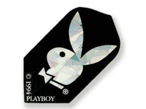 Letky PLAYBOY slim black/silver