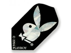 Letky PLAYBOY slim black/silver