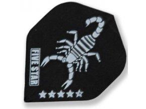 Letky FIVE-STAR standard black Scorpy
