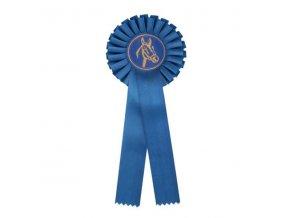 Kokarda jednořadá CK1 modrá průměr 12,5 cm, délka 31 cm