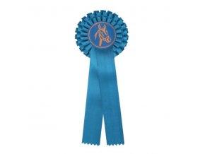 Kokarda dvouřadá CK2 modrá  průměr 12 cm, délka 31cm