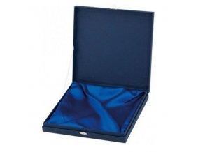 Etue na talíře CH282 modrá 17 x 17 cm