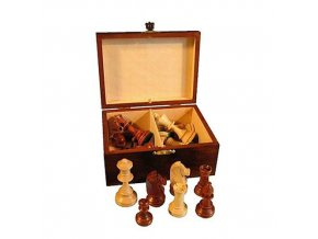 Šachové figurky v kazetě vel.4