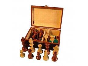 Šachové figurky v kazetě vel.7