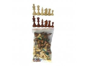 Šachové figurky v sáčku vel.4