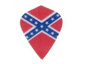 Letky plátěné Longlife kite Vlajka Konfederace