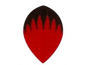 Letky plátěné Longlife pear červeno/černé