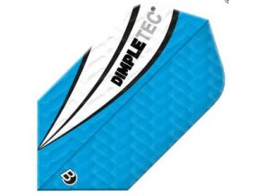 Letky DIMPLETEC slim blue/white