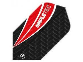 Letky DIMPLETEC slim black/red