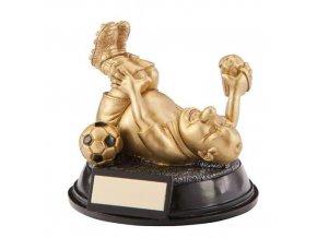Trofej CRF2097 fotbal PUPKÁČ Výška 17cm