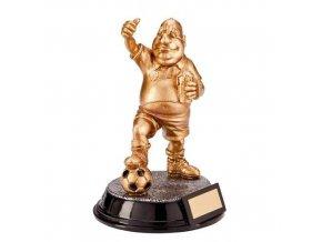 Trofej CRF1361 fotbal PUPKÁČ Výška 17cm