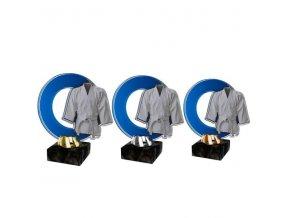 Akrylátová trofej CACL2101M23 Karate